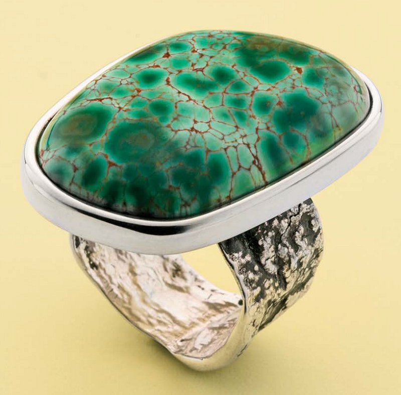 textured jewelry designs ring by John Heusler,