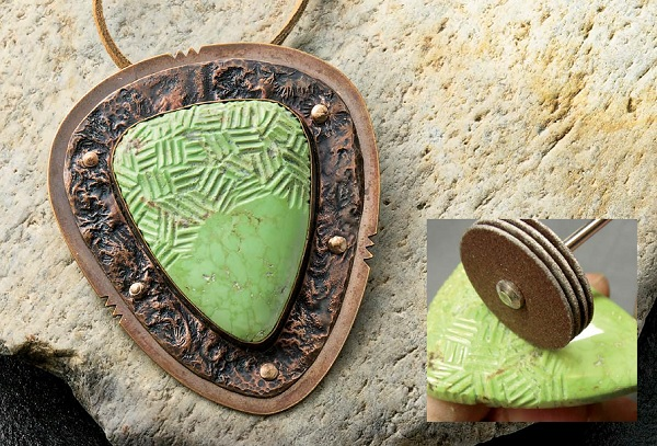 carve stones to hide flaws or add customization