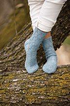 Thalweg Socks Knitting Pattern