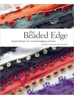 Learn everything you need to know about making a beaded crochet edge.