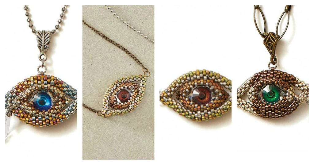 The Eye of Horus Pattern is a Trend that Goes Beyond Bead Weaving
