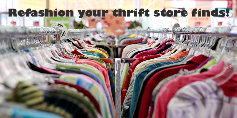 National Thrift Shop Day: 3 Ways to Add Crochet to Thrift Store Finds