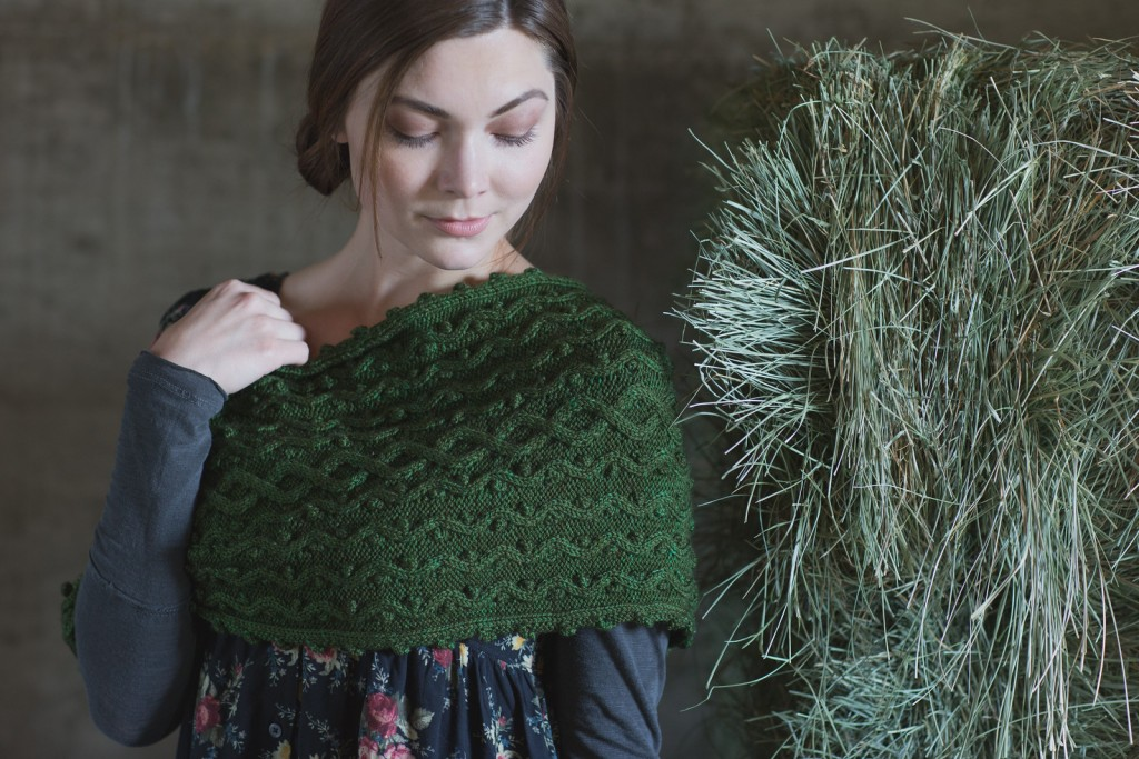 Winter Thyme Cowl