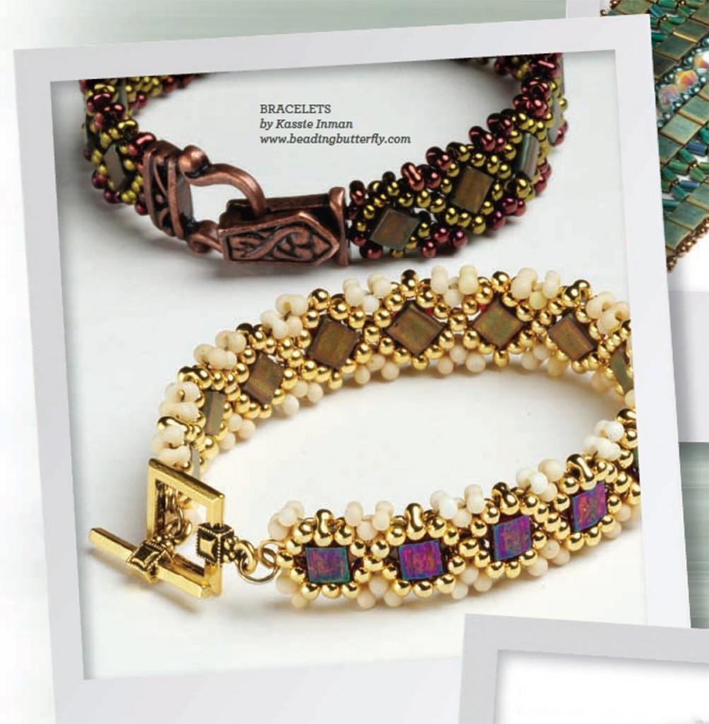 Tile bracelet by Kassie Shaw
