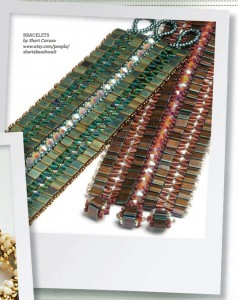 Tile bracelet by Sheri Caruso