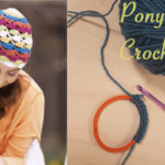 WIP Wednesday: Ponytail Hats, Crochet Style!