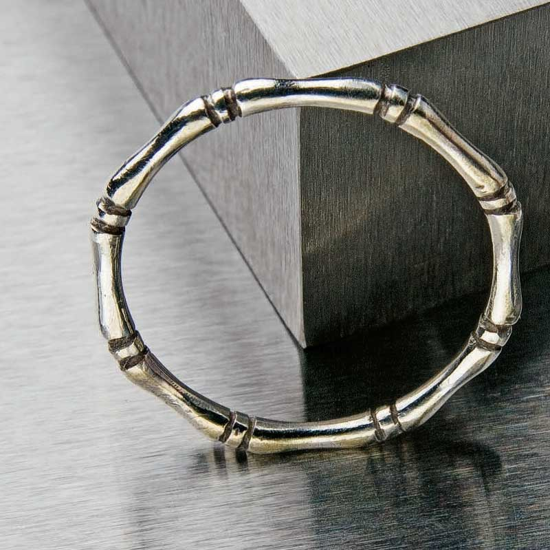 Bamboo ring by Elizabeth Ann Tokoly