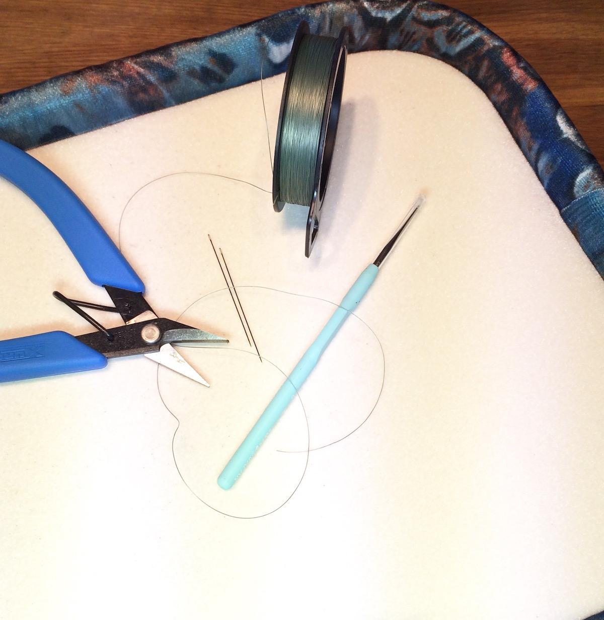 bead board and tools - check!