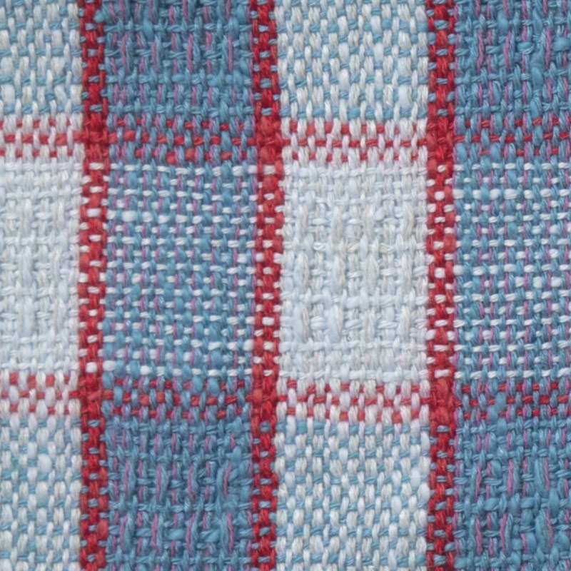 Susan paired Halcyon Yarn's Block Island Blend with Homestead 8/2 cotton and used a simple pick-up pattern to give the towels some texture and extra visual interest.
