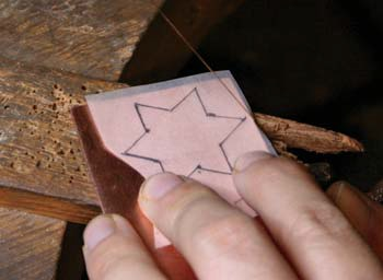 metalsmithing tips for sawing from a pattern