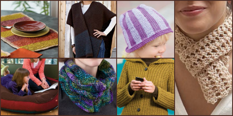 Tunisian Crochet with Free Patterns
