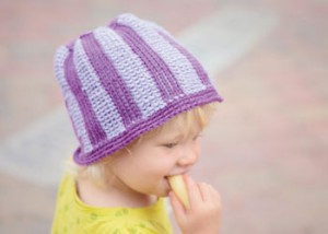 Learn how to make this free Tunisian crochet hat pattern in this free guide.