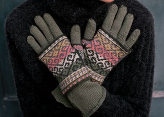 Ambidextrous Gloves Knitting Pattern