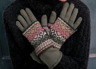 Ambidextrous Gloves Knitting Pattern