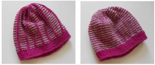 Two-Sided Child's Hat knitting pattern