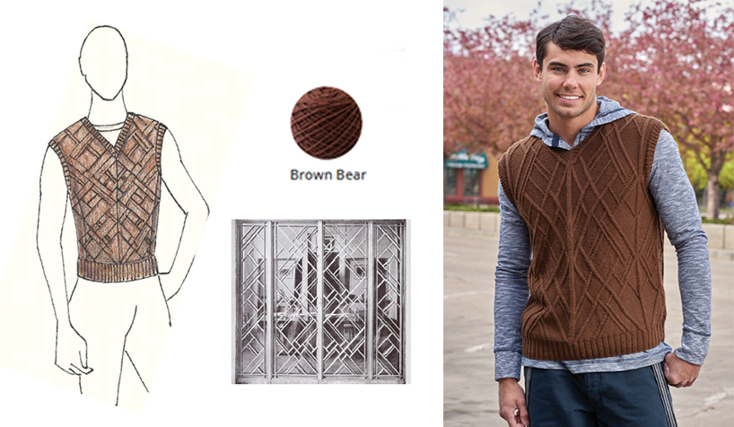 Urban Knit Collection: Mens Knitted Vest Pattern