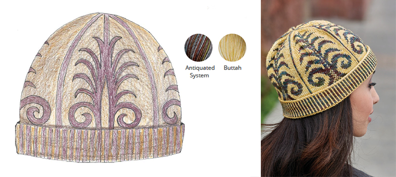 Urban Knit Collection Colorwork Knit Hat Pattern