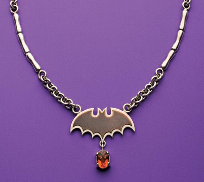 Roger Halas Vampire Bat Linked Necklace PHOTO: JIM LAWSON
