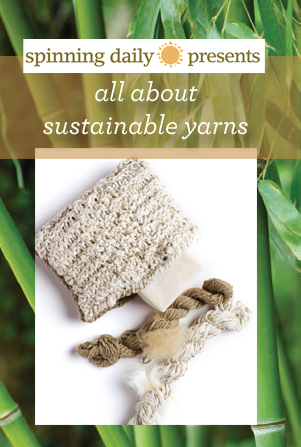 This yarn comparison takes vegan and sustainable yarns and compares their properties with woollen yarns found in our FREE eBook on natural fibers.