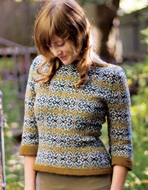 Venezia Fair Isle color knitting pattern