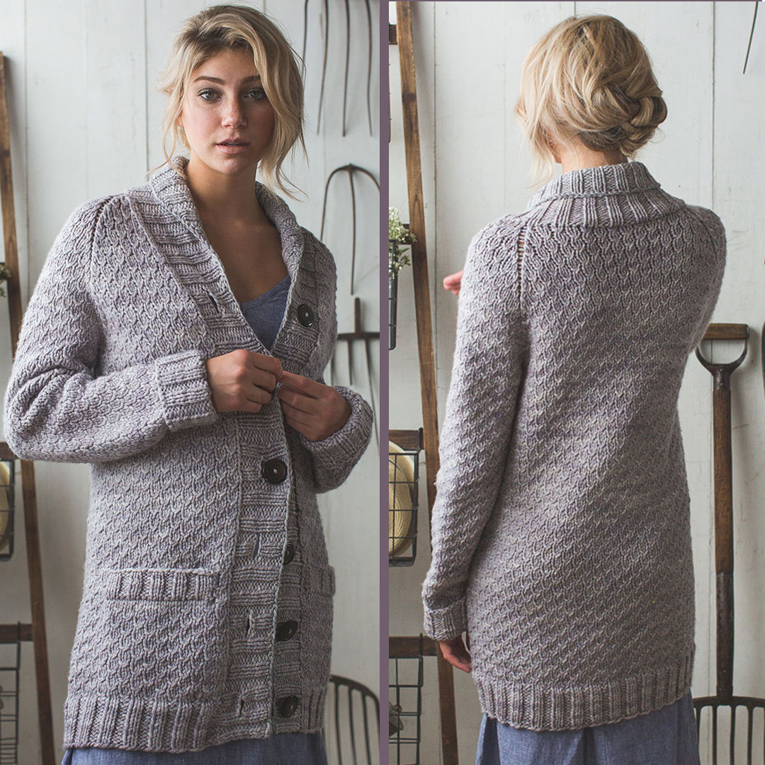 Pattern of the Week: The Verbena Cardigan (Plus a Surprise
