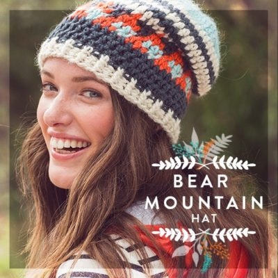 Vickie Howell Bear Mountain Hat Kit