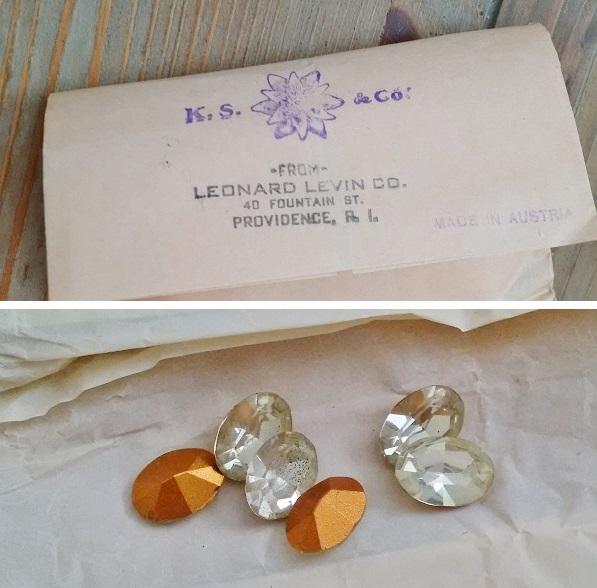 vintage Swarovski crystal packets from CJS Sales