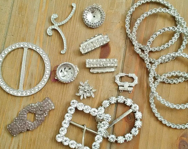 new and vintage rhinestone jewelry making supplies from CJS Sales