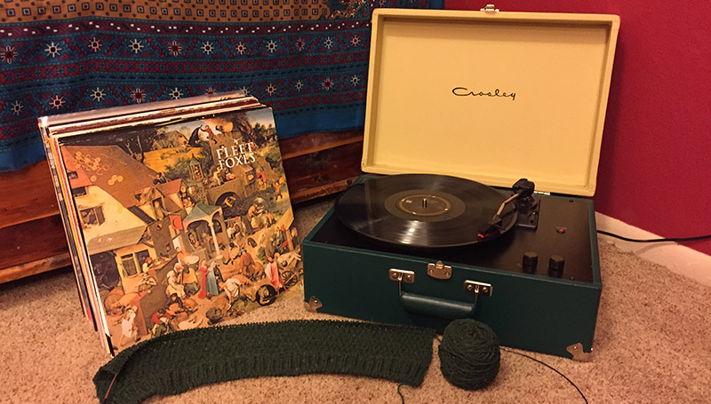 Give These Records a Listen for a Great Knitting Experience