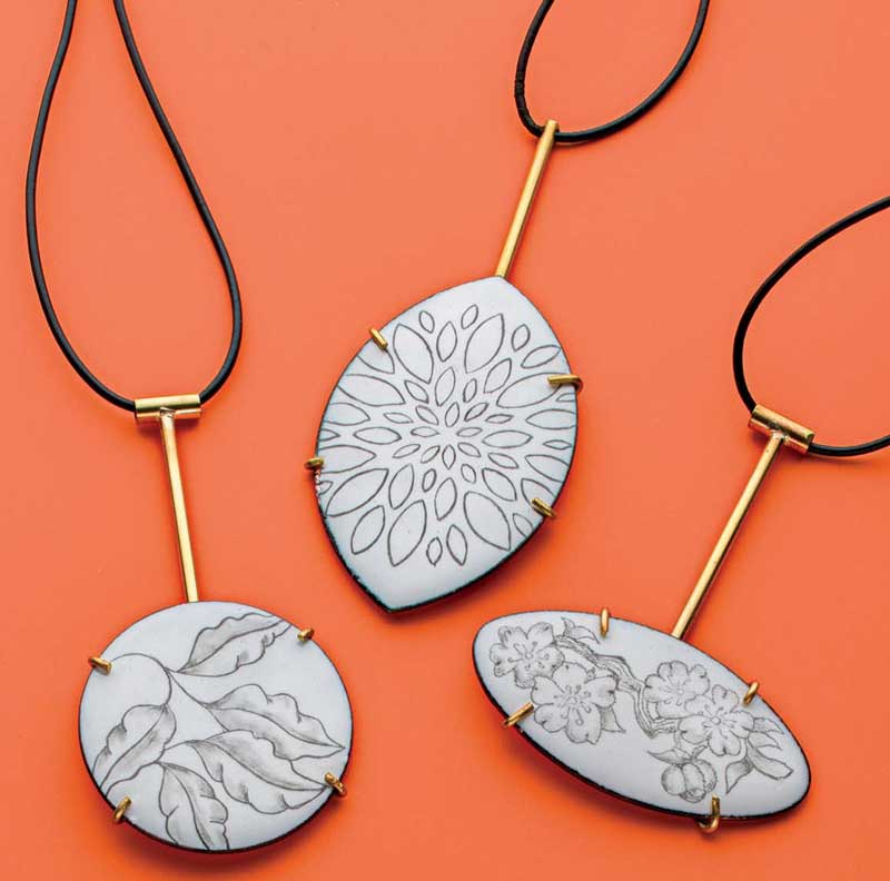 5 Favorite Jewelry Making Projects That Surprise Us, Wadler, liquid enamel