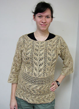 Knitting Gallery - Wakame Lace Tunic Katie