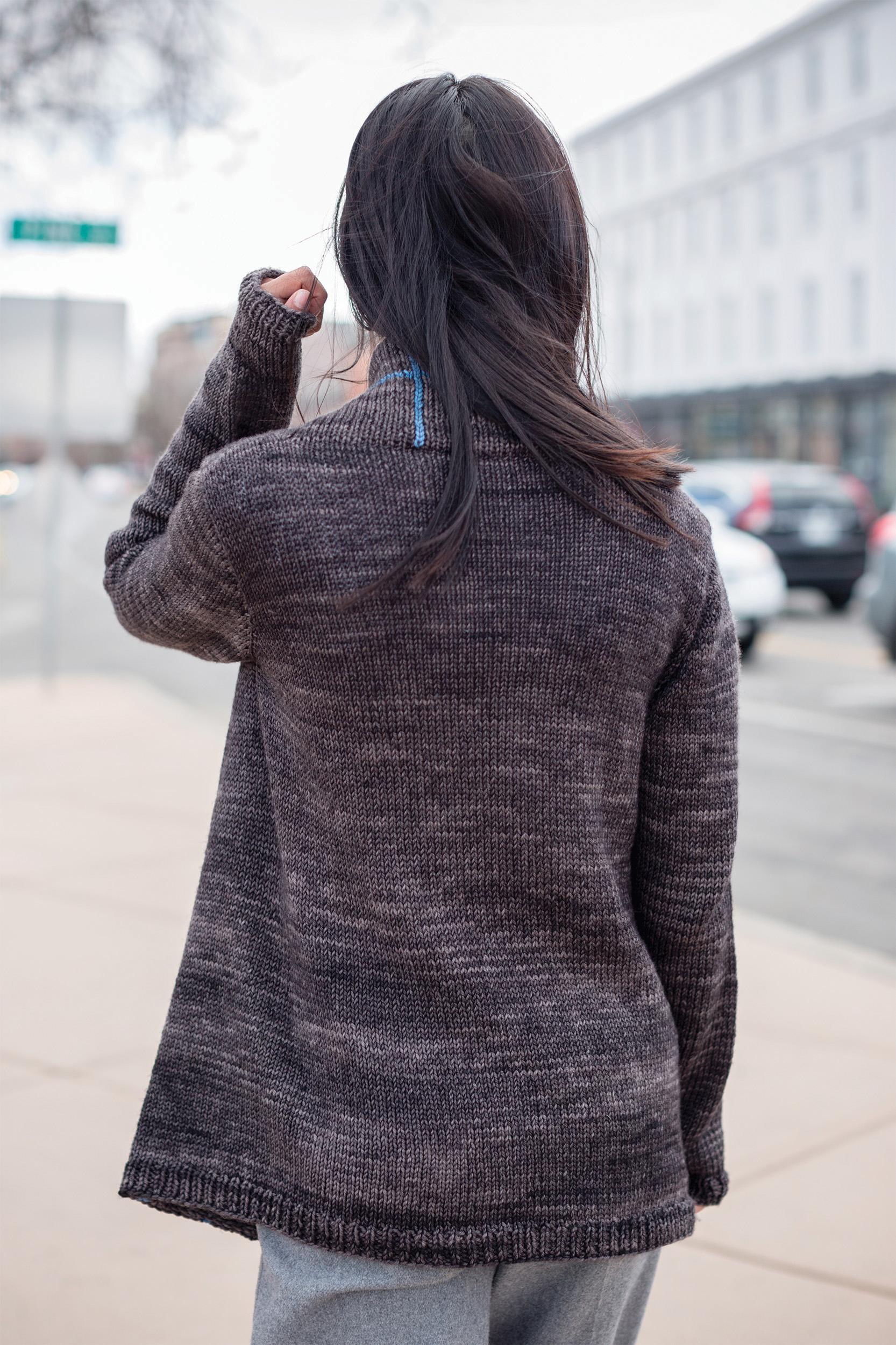 Walnut Street Coat - Rear View
