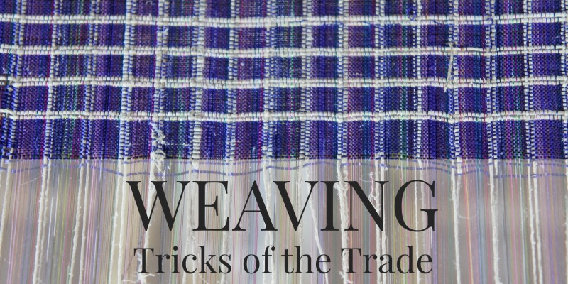 Weaving Tricks of the Trade: One Weaver's Approach to Spinning