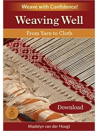 Learn a wide variety of weaving techniques in this video from Madelyn van der Hoogt. Master designing, warping, weaving, and finishing handwoven projects.
