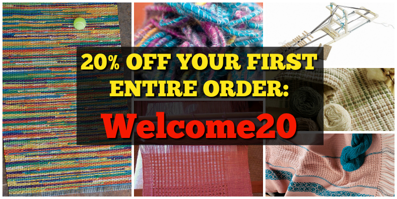 Receive 20% off your order at Interweave!