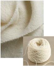 Liz Gipson's Mora wool basketweave scarf