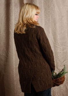 Knitting Gallery - Little Blue Sweater Sandi