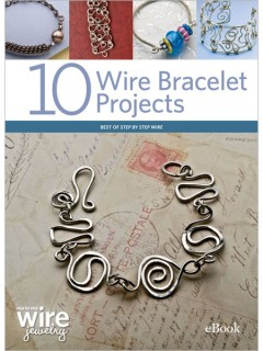 how to make wire bracelets