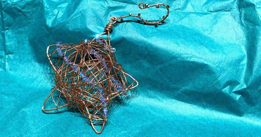 wire ornament star