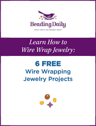 Learn how to wire wrap jewelry with beads in this free eBook.