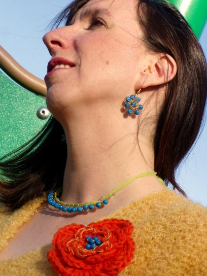 It's Electric - Crocheted Wire Jewelry