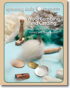 Learn everything you need to know about wool combing and carding in this FREE spinning ebook.