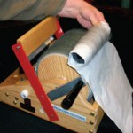 Learn about how to use your drum-carding machine to make the process of handcarding easier in this free wool combing and carding ebook.