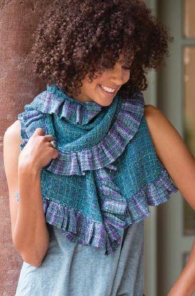 woven-shawl-waffle-weave