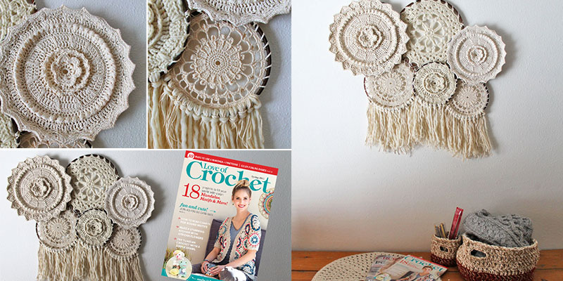 Crochet Your Way To Sweet Home Decor