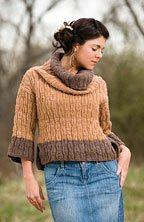 Xylem Pullover Knitting Pattern