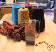 Learn about the different types of yarn out there in this free weaving tools eBook.