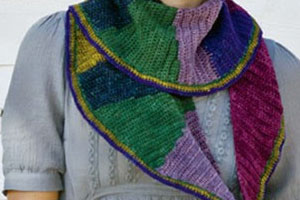 Learn how to combine different yarn colors in your colorwork crochet projects.