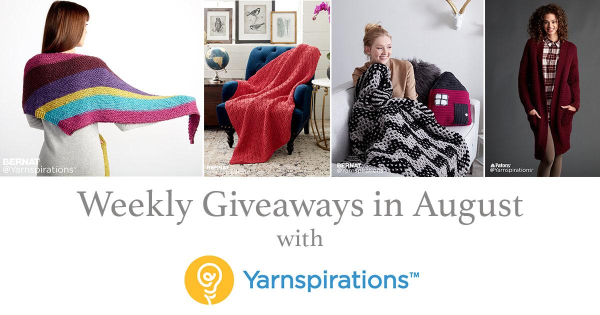 Yarnspirations Sweepstakes: Yarn to Love, Yarn to WIN!