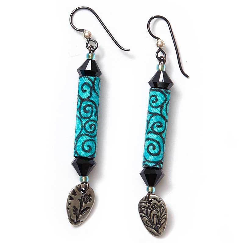 Fabulous Zendoodle earrings by Kristal Wick